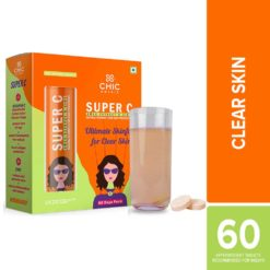 Chicnutrix Super C - Amla Extract & Zinc - Natural Vitamin C for Skin Protection
