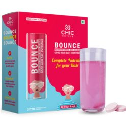 Chicnutrix Bounce - Hair Recovery Complex, Biotin, Selenium - Good Hair Day, Everyday