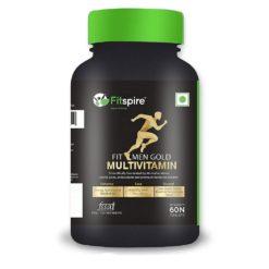 Fitspire Fit Men Gold Multi Vitamin