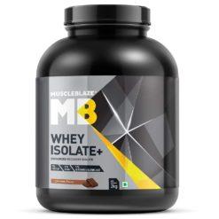 MuscleBlaze Whey Isolate Plus Protein Powder