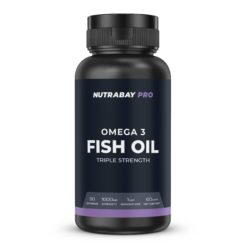 Nutrabay Pro Fish Oil Omega 3 (Triple Strength) - 1000mg