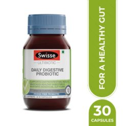 Swisse Ultibiotic Probiotic Supplement for Immunity and Digestive Health, Gut Health
