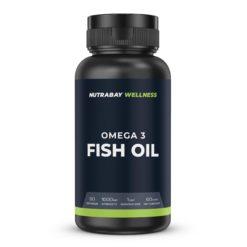 Nutrabay Wellness Fish Oil Omega 3 - 1000mg