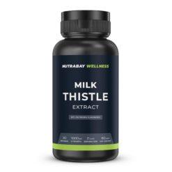 Nutrabay Wellness Milk Thistle Extract (Silymarin Marianum) 1000mg