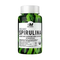 Bigmuscles Nutrition Spirulina Organic Tablets (1500mg )
