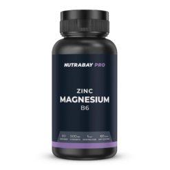 Nutrabay Pro Zinc + Magnesium + B6 - 500mg