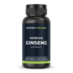 Nutrabay Wellness Korean Ginseng Extract 400mg