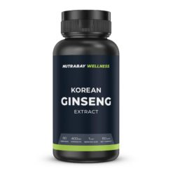Nutrabay Wellness Korean Ginseng Extract 400mg