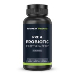 Nutrabay Wellness Pre & Probiotic Digestive Support - 50 Billion CFUs