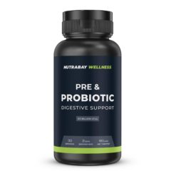 Nutrabay Wellness Pre & Probiotic Digestive Support - 25 Billion CFUs