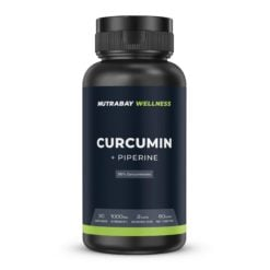Nutrabay Wellness Curcumin Extract with Piperine 1000mg