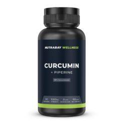 Nutrabay Wellness Curcumin Extract with Piperine 1000mg