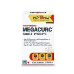 Vitrovea Megacurc Immunity + Joint Support w/Triple Strength Fish Oil, Curcumin and Boswellia