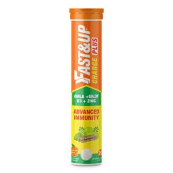 Fast&Up Charge Plus with Natural 4 in 1 Advance Immunity Defence Formula (Tube of 20 Tabs)