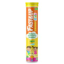 Fast&Up Charge Kids with Active Vitamin C Complex, Super Immunity Herbs and Pro Immunity Vitamins & Minerals (Tube of 25 Tabs)