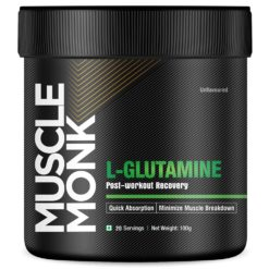 Muscle Monk Glutamine Powdered Supplement