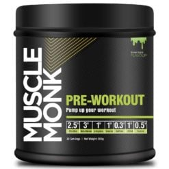 Muscle Monk Pre-Workout with Creatine, Beta-Alanine, and L-Arginine for Energy