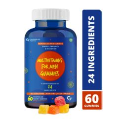 Carbamide Forte Multivitamin for Men Gummies with Superfoods & Antioxidants for Immunity, Minerals for Energy & Probiotics for Digestion