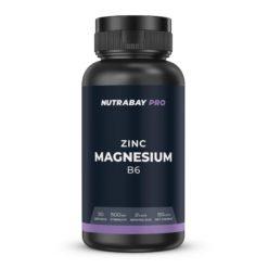 Nutrabay Pro Zinc + Magnesium + B6 (ZMA) - 500mg