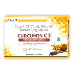 GHC Herbals Curcumin C3 Complex 500mg