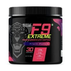 Muscle Asylum F9 Extreme Pre-Workout