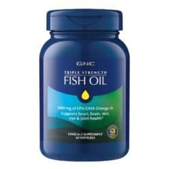 GNC Triple Strength Fish Oil Softgels