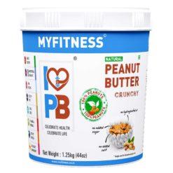 MyFitness Natural Peanut Butter Crunchy