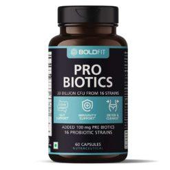 Boldfit Probiotics Supplement 30 Billion CFU