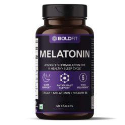 Boldfit Melatonin 5mg with Tagara 125mg