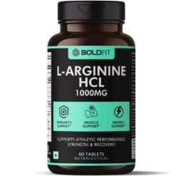 Boldfit L-Arginine 1000mg Supplement, Nitric Oxide Supplement