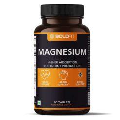 Boldfit Magnesium 340 Mg Supplement, Magnesium Oxide 100% RDA Of Magnesium