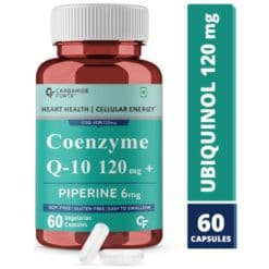 Carbamide Forte Coenzyme Q10 (CoQ10) 120mg with Piperine 6mg