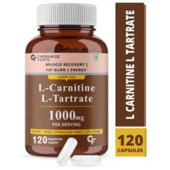 Carbamide Forte L Carnitine L Tartrate Supplement 1000mg