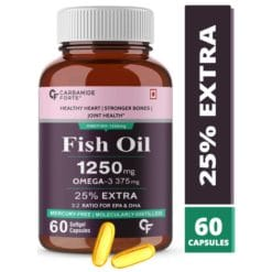 Carbamide Forte Omega 3 Fish Oil 1250mg Capsule Supplement