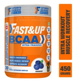 Fast&Up BCAA Ultra Granulation Technology with 5000 mg 2:1:1 BCAA Blend