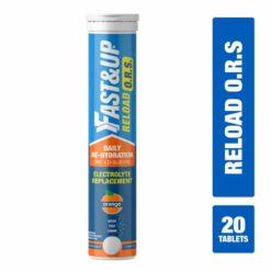 Fast&Up Reload O.R.S, Effervescent Electrolyte Tablets (20 Effervescent Tablets)