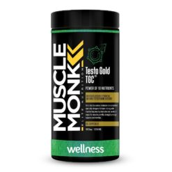 Muscle Monk Testo Gold TGC - Natural Testosterone Booster with Increased Bioavailability