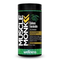 Muscle Monk Forskolin - 100% Pure Coleus Forskolin Root Extract