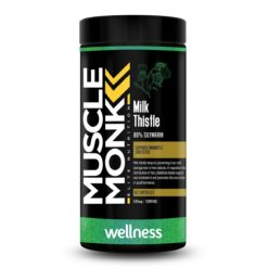 Muscle Monk Milk Thistle - Detoxify the Liver & Promotes Healthy Liver Functions