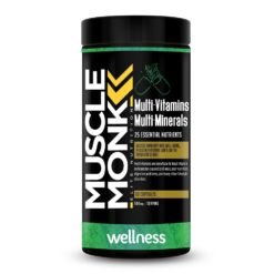 Muscle Monk Multivitamin - Enhance Sports Performance & Overall Wellness