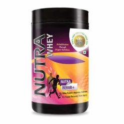 Nutra Whey Rehab + Protein Powder