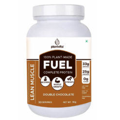 PlantVita FUEL - 25g Lean Muscle Gain Protein with Turmeric Extract