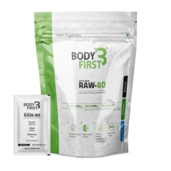 BodyFirst Raw-80 100% Whey Protein Concentrate
