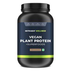 Nutrabay Wellness Vegan Plant Protein Powder + Superfoods