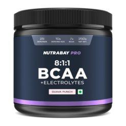 Nutrabay Pro BCAA 8:1:1 with Electrolytes