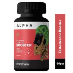 Bold Care Alpha Ashwagandha, Shilajit, Safed Musli & More - Natural Bodybuilding Supplements for Men