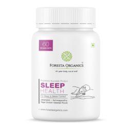 Foresta Organics Sleep Health with Ashwagandha, Jatamansi & Tagar (Indian Valerian Root)