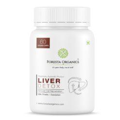 Foresta Organics Liver Detox with Milk Thistle Extract (Silymarin), Dandelion & Multi-Vitamins