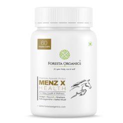 Foresta Organics Menz-X Health with Shilajit, Ashwagandha, Kaunch & Safed Musli