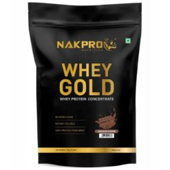 Nakpro Gold 100% Whey Protein Concentrate Supplement Powder